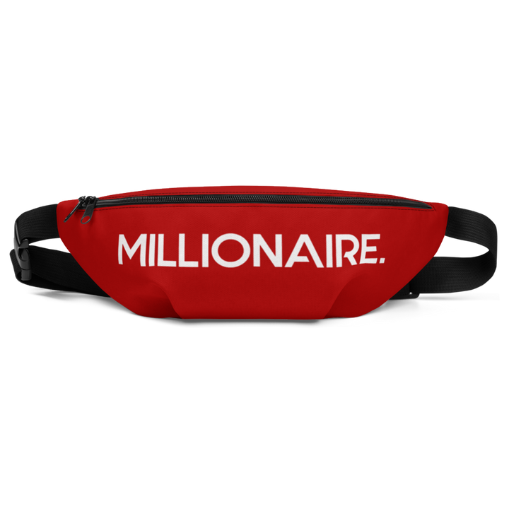#FGM Fanny Pack (RED)-First Generation Millionaire
