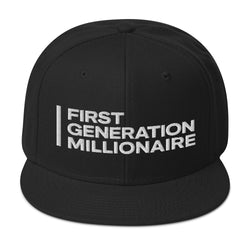 First Generation Millionaire Snapback Hat - First Generation Millionaire