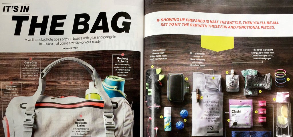 Endurance Tap makes an appearance in Canadian Living's 'It's In the Bag'