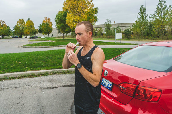 How Reid Coolsaet Fuels for an Olympic-Calibre Marathon