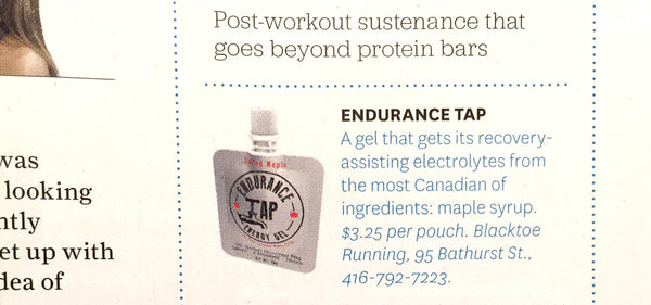 Toronto Life Looks Beyond Bars for Post-Workout Fuel