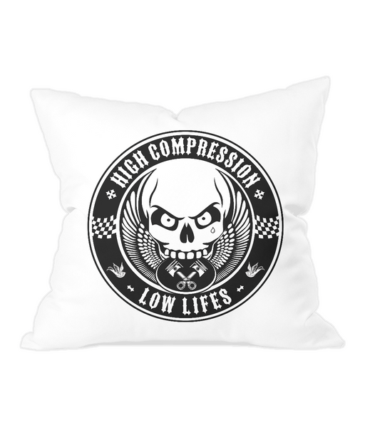 High Compression Low Lifes pillow