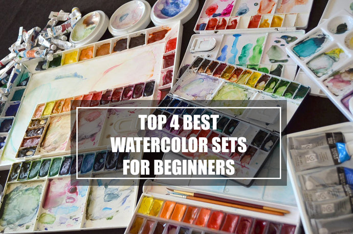 Top 4 Best Watercolor Sets for Beginners
