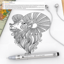 Epiphany XB-Chrome - Micro Fineliner Drawing Pens, Archival Ink by Artistrove