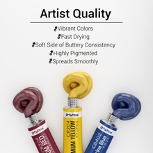 Acrylic Paint Set by Artistrove - Premium Pigments | 24 Tubes
