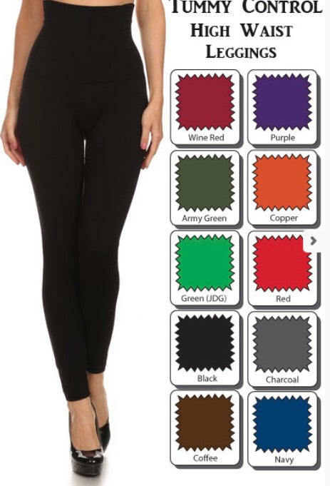Plus French terry leggings