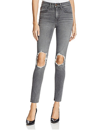 721 High Rise Skinny Jeans | Washed Black