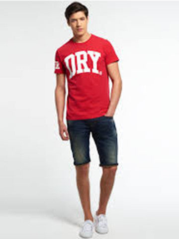BIG DRY ENTRY TEE - RED