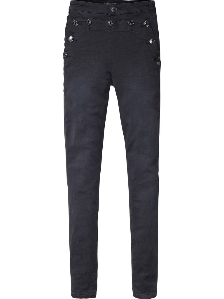 Sailor Trousers  High Rise Skinny Fit