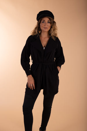 black jenny jazz cotton jacket