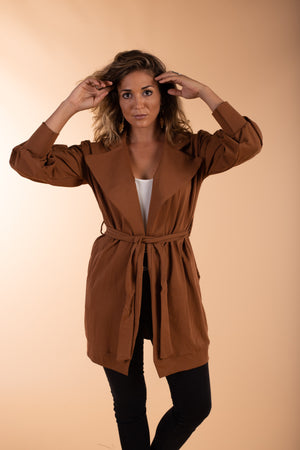jenny jazz brown jacket
