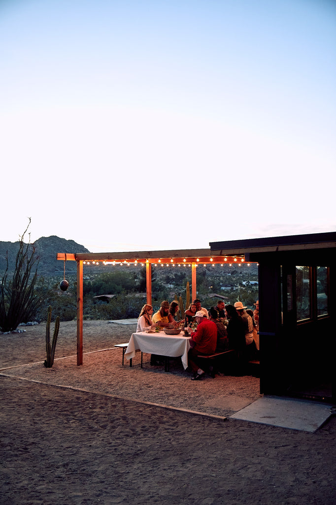 """The Joshua Tree Party House Where Olive Oil is the Drink of Choice"""