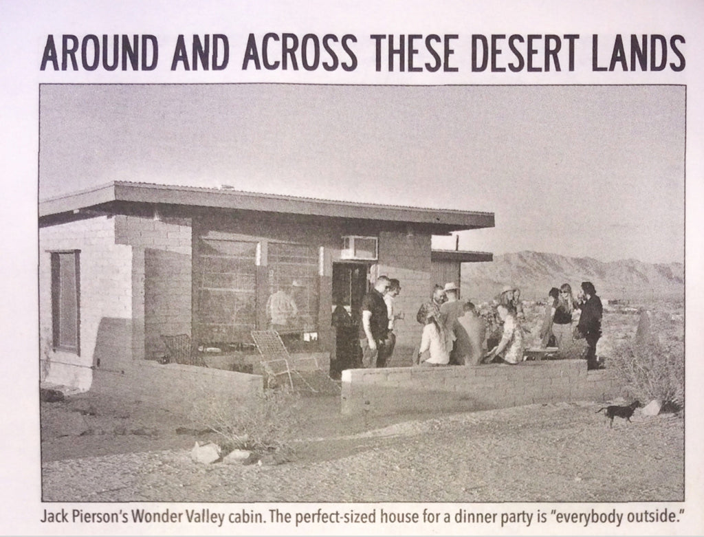 Wonder Valley Press - Desert Oracle
