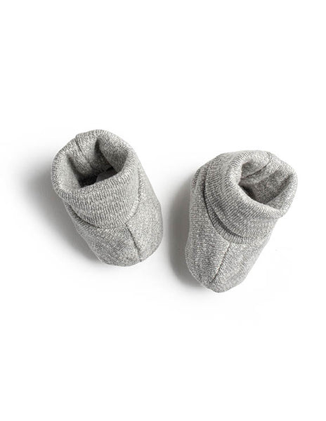Jacqueline and Jac Grey Knit Booties