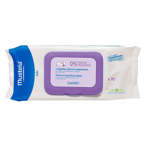 Mustela Fragrance Free Dermo-Soothing Wipes