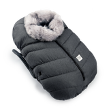 7 AM Grey Tundra Carseat Cocoon
