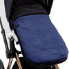 Chicali Dark Blue Carseat Bunting