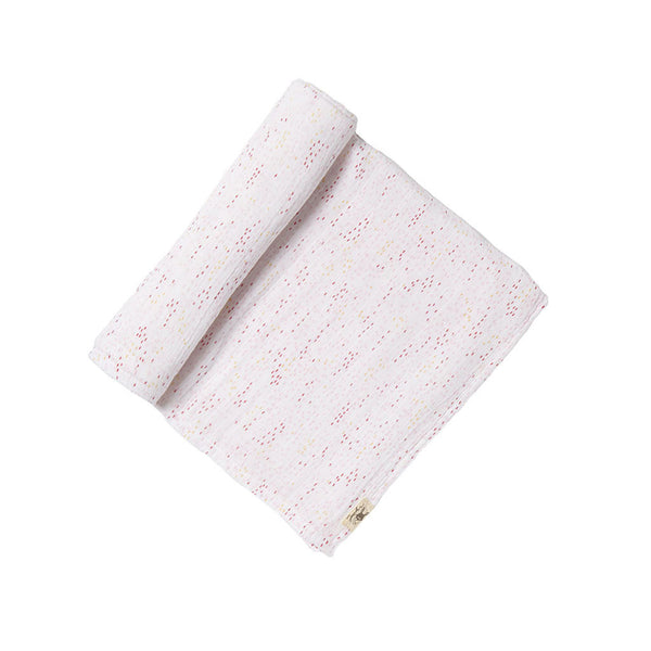 Petit Pehr Showers Pink Swaddle