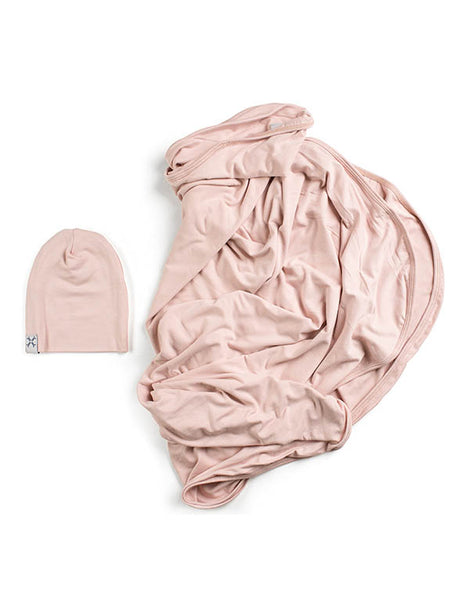 Jacqueline and Jac Blush Blanket Set