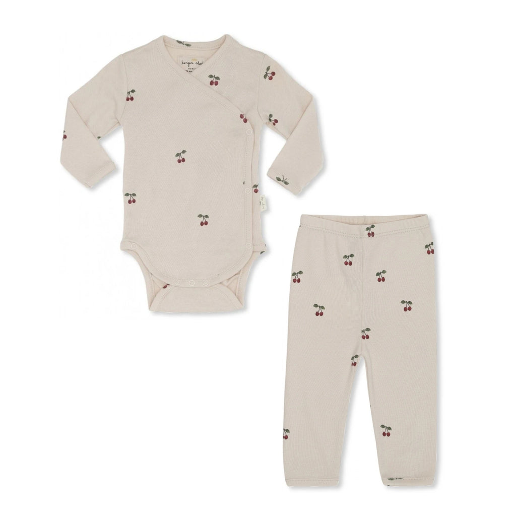 Konges Slojd Cherry Blush Newborn 2pc