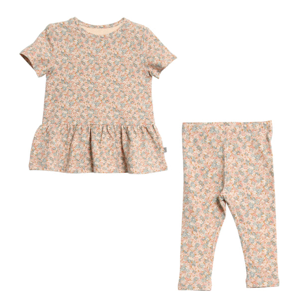 Wheat Floral Pajamas