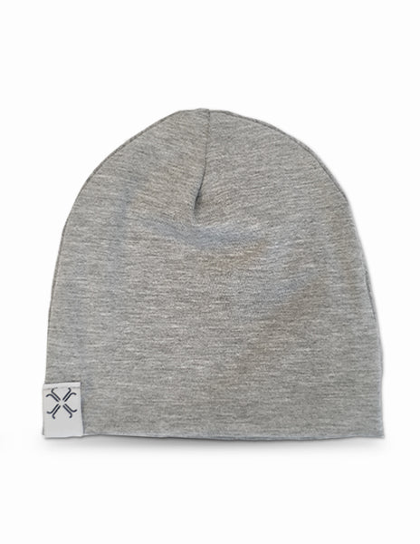 Jacqueline & Jac Heather Grey Beanie