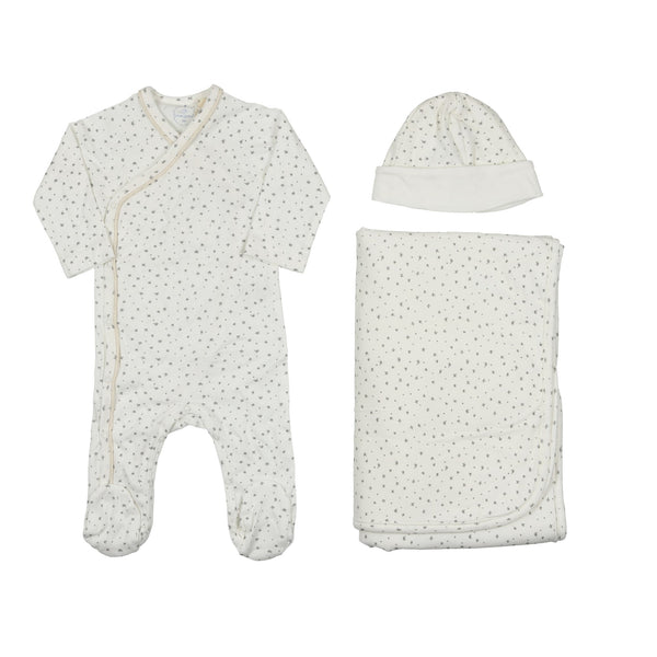 Laranjinha Star Layette Set