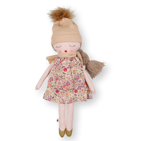 Hearts of Yarn Winter Doll