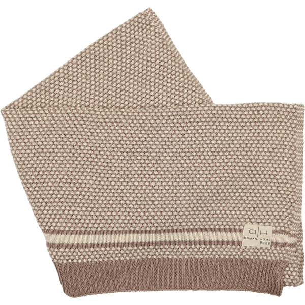 Domani Home Bebe Natural Rattle Blanket