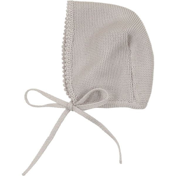 Carmina Grey Knit Bonnet