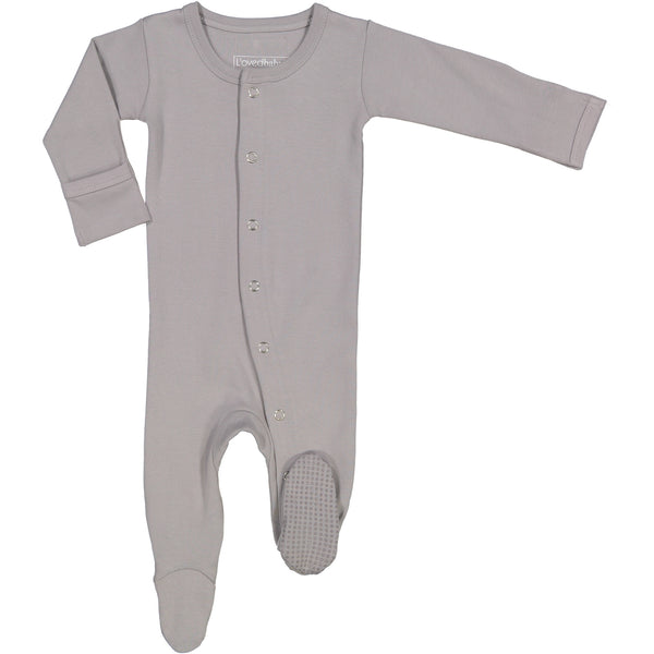 L'oved Baby Gray Footie