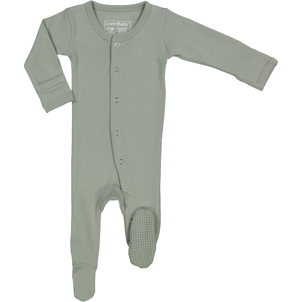 L'oved Baby Seafoam Footie