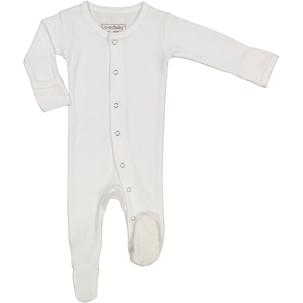 L'oved Baby White Footie