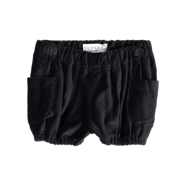 Nueces Black Velvet Bloomers