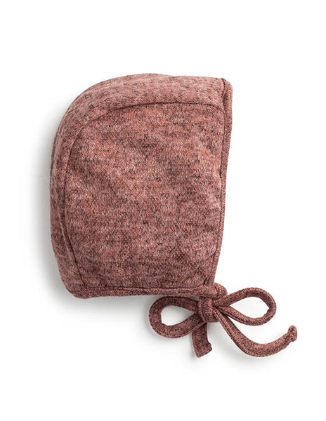 Jacqueline and Jac Rose Knit Bonnet