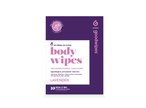 Body Wipes  - Lavender - 10CT Singles