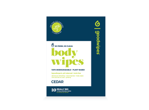 Body Wipes - Cedar - 10CT Singles