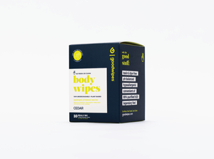 Load image into Gallery viewer, Body Wipes - Cedar - 10CT Singles