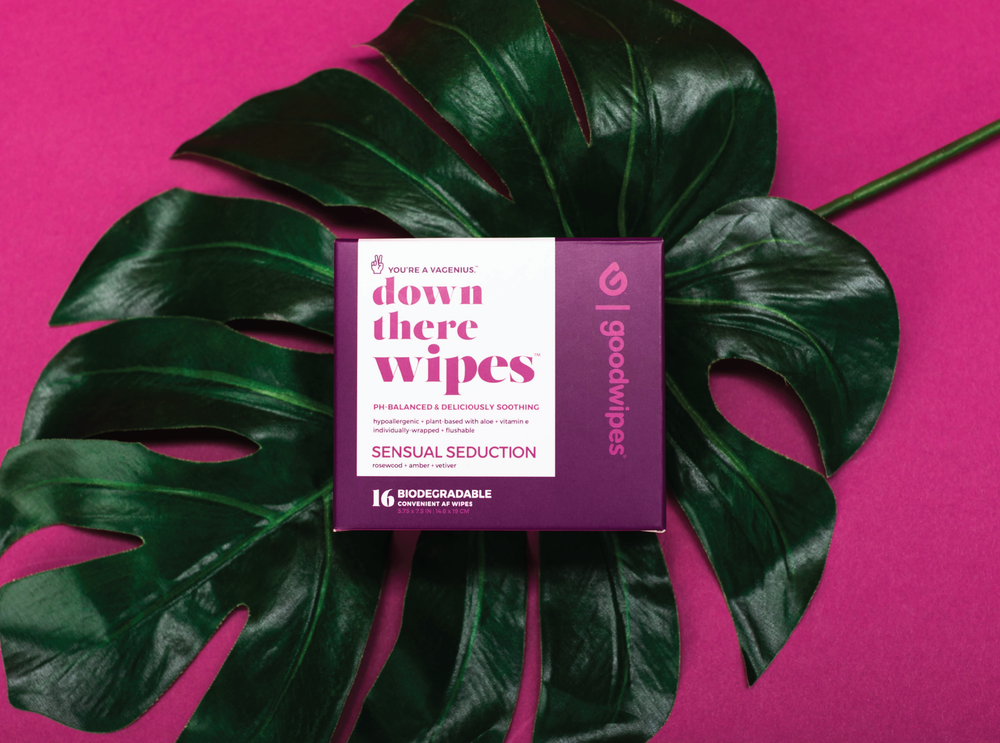 Down There Wipes - Sensual Seduction - 16 CT Singles - Pack of 4