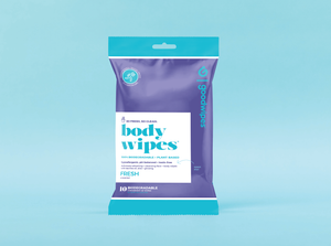 Body Wipes - Fresh - 10 CT Travel Pack - Pack of 3