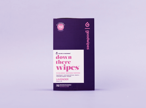 Down There Wipes - Lavender - 32 CT Singles
