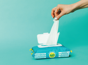 Goodwipes Flushable Wipes - Shea Coco - 60 CT Resealable Dispenser - Pack of 3 ((Pre-Order : Ships End of May))
