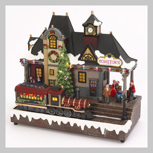 Christmas Village Sets, Houses & Accessories