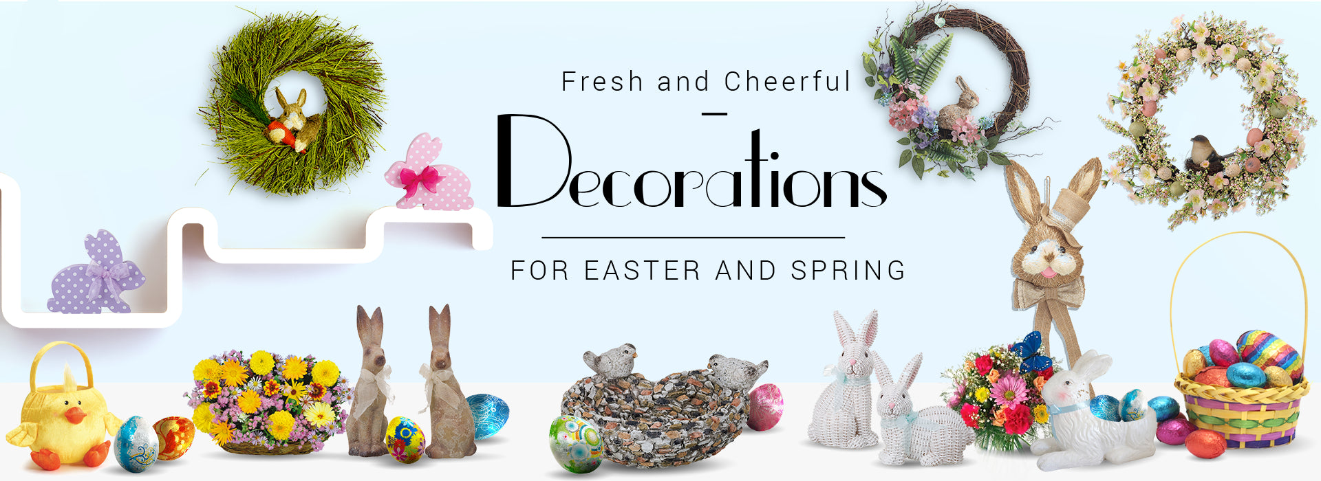 Easter Decorations And Spring Home Decor One Holiday Way