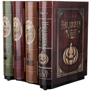 Animated Moving Books Halloween Decoration Party Prop Haunted Accessory