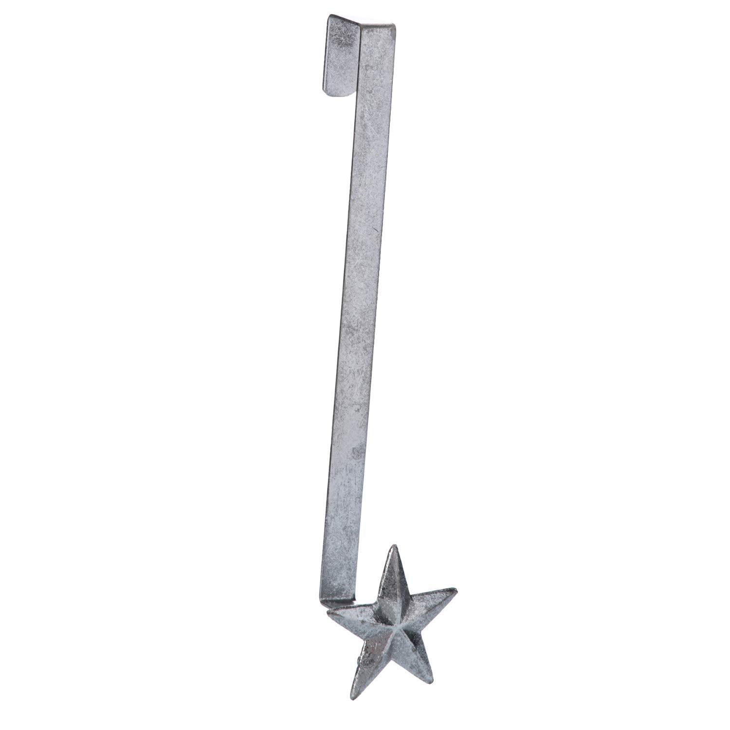 Rustic Gold Or Silver Star Christmas Wreath Holder Over The Door