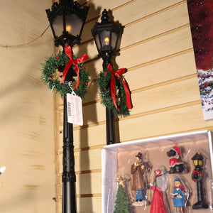 26-Inch Indoor Holiday Lamp Posts (Set of 2)