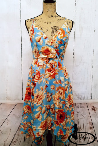 Blue Rust Dress