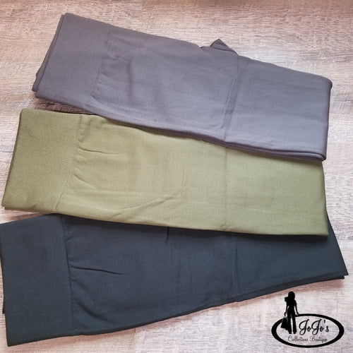 Fleece Lined Leggings Plus
