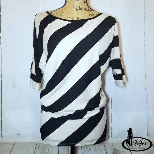 Diagonal Stripe Top